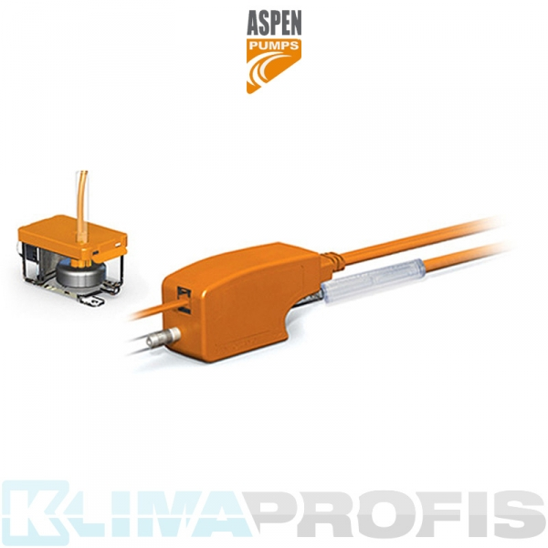 Aspen Silent+ Mini Orange Kondensatpumpe