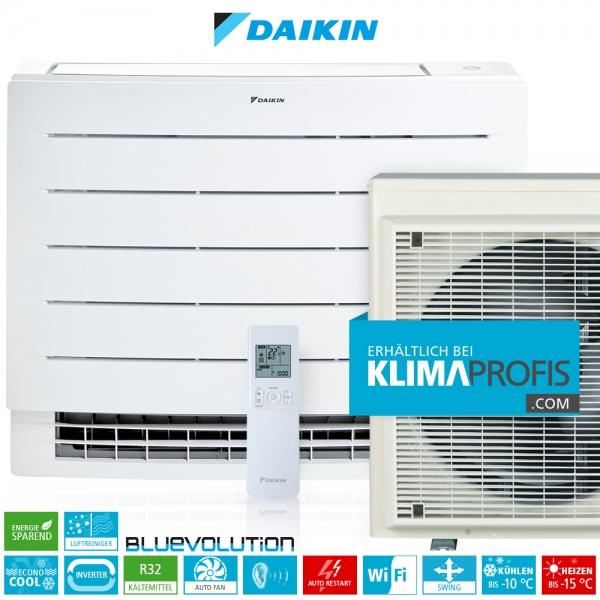 Daikin Perfera FVXM35A R32 Inverter Truhenklimageräte Set - 4 kW