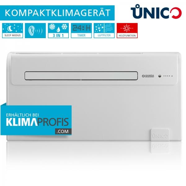 Unico Air 8 HP Wand-Truhenklimagerät - 1,8 kW, Kompaktklimagerät