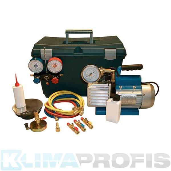Mini Vakuum und Füllsatz Basic für R410A