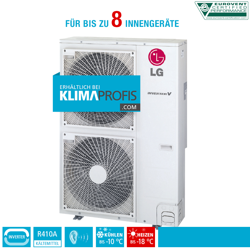lg multi split inverter v au eneinheit fm49ah 17 kw f r 8 innenger te klimaprofis. Black Bedroom Furniture Sets. Home Design Ideas