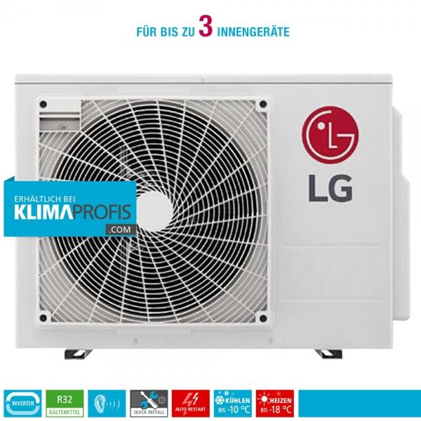 LG MU3R19 Multisplit Smart Inverter Außengerät 6,33 kW für 2-3 Innengeräte