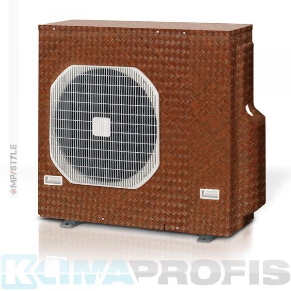 MP-Style - Dekorfolie Ajiro, KSF005 für Außengerät, selbstklebend, laminiert mit UV-Schutz