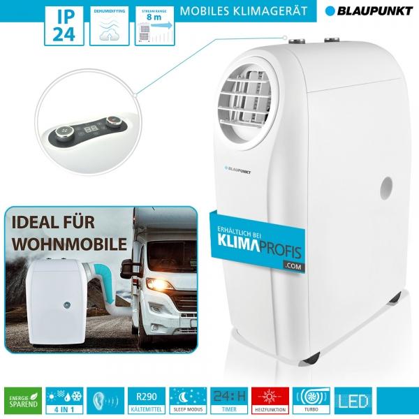 Mobiles Klimagerät Blaupunkt Arrifana 1414L - 4 kW für Räume bis 45 qm, Ideal für Wohnmobile