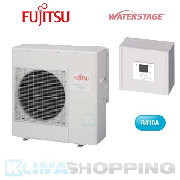 Fujitsu Kompakt Monoblock Wärmepumpe WPYA100LA, 10kW