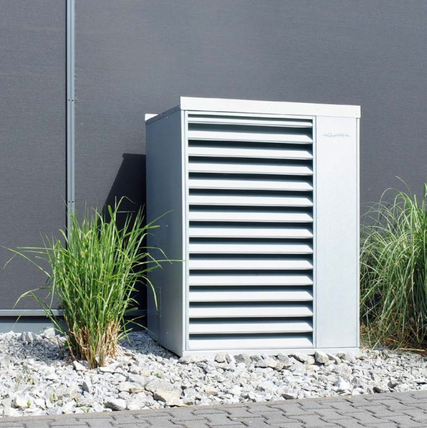 Aquarea Designhaube 9 - 16 kW, verzinkt, Schallreduktion um 5 - 8 dB(A)