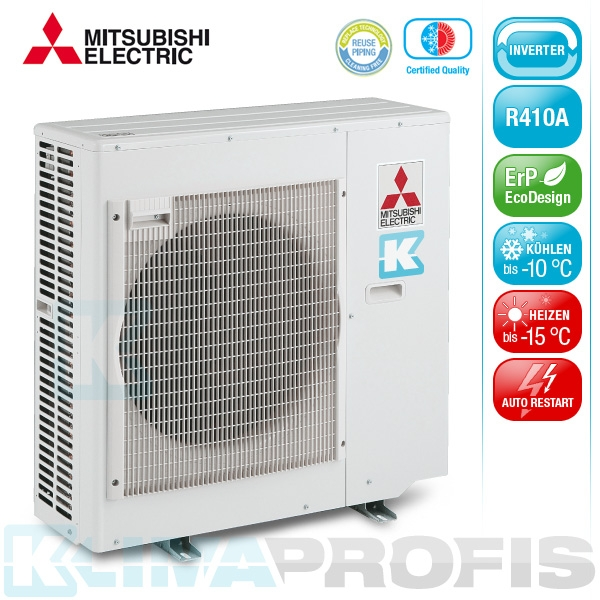 mitsubishi mxz 5e102va e2 multi split inverter au enger t. Black Bedroom Furniture Sets. Home Design Ideas