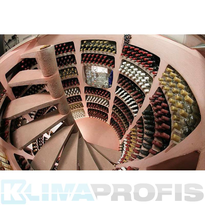 spiralweinkeller helicave rund 2m 2 75m tief bausatz. Black Bedroom Furniture Sets. Home Design Ideas