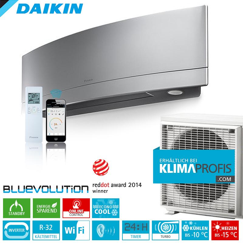 daikin emura ftxj35ms r32 wifi inverter klimager te set 3 8 kw daikin hersteller klimaprofis. Black Bedroom Furniture Sets. Home Design Ideas