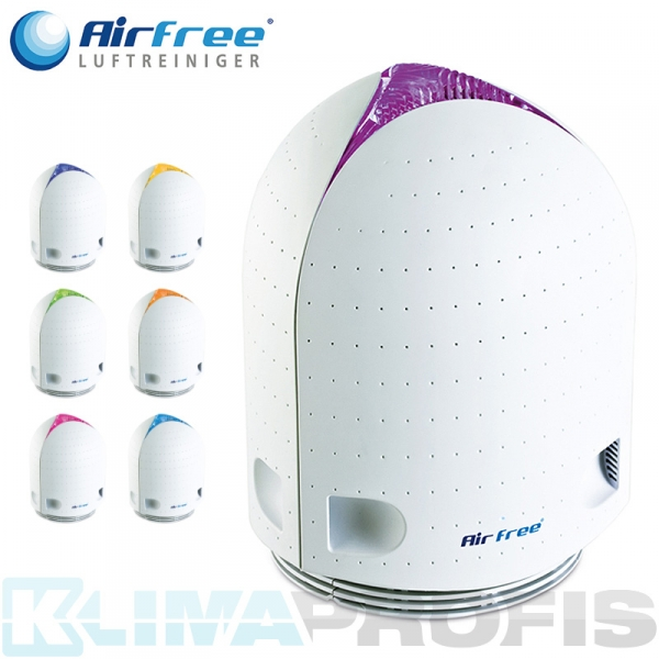 AirFree Luftreiniger Iris 40 mit Farbtherapie-Licht, 40W, 16qm