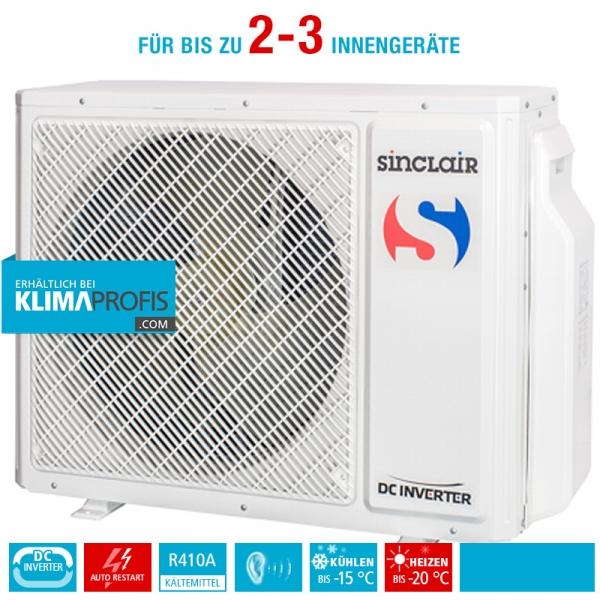 Sinclair MS-E21AIN Multi-Split Inverter Außengerät - 7,3 kW, für 2-3 Innengeräte