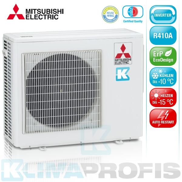 Mitsubishi MXZ-4E72VA-E2 Multisplit Inverter Außengerät 7,2 kW für 2-4 Innengeräte