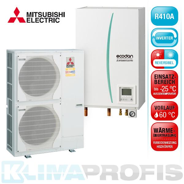Mitsubishi Ecodan-Splitsystem PUHZ-SHW140YHA EHSC-YM9EB Hydrobox 14kW | Mitsubishi Electric ...