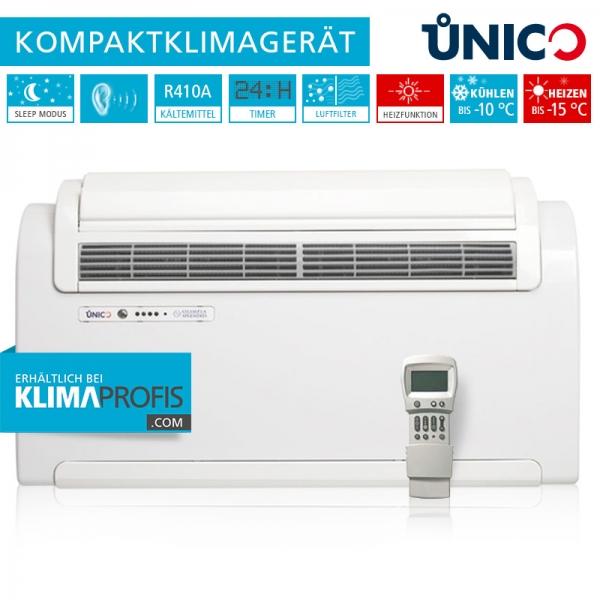 Unico R 10 HP Wand-Truhenklimagerät - 2,3 kW für sehr kalte ...