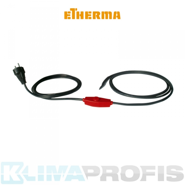 Etherma Frost Protection Cable FPC-1, 17 W, 1 m mit Thermostat