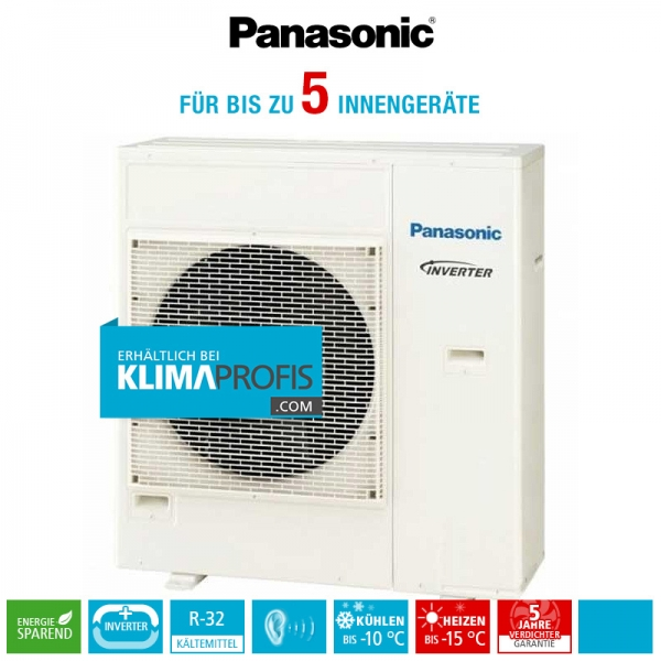 Panasonic CU-5Z90TBE R32 Multi-Split Inverter Plus Außengerät - 11,5 kW