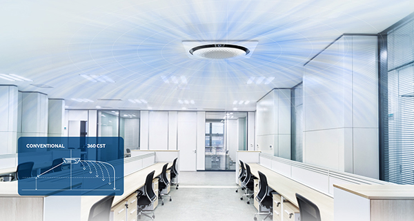 Samsung - 360° Airflow Deckenkassetten