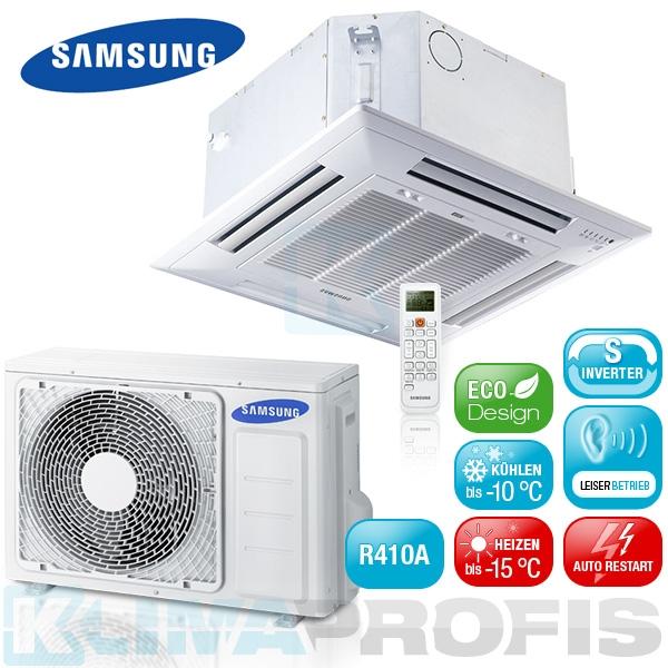 Samsung AC 026 FBNDEH Mini-Kassetten Set - 3,5 kW mit 360° Surround Airflow