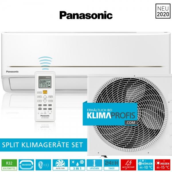 Panasonic CS-PZ35WKE R32 WiFi Standard Inverter Klimageräte-Set - 3,9 kW