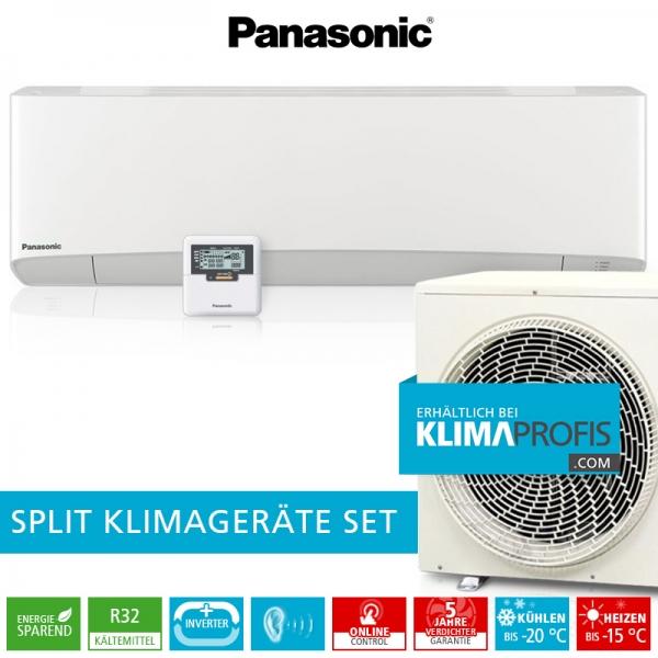 Panasonic CS-Z42TKEA R32 Professional Klimageräte-Set für EDV-Räume - 5 kW