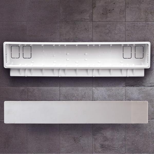 installationsbox pb 300 f r klimaanlagen leitungs kanalsysteme zubeh r klimager te. Black Bedroom Furniture Sets. Home Design Ideas