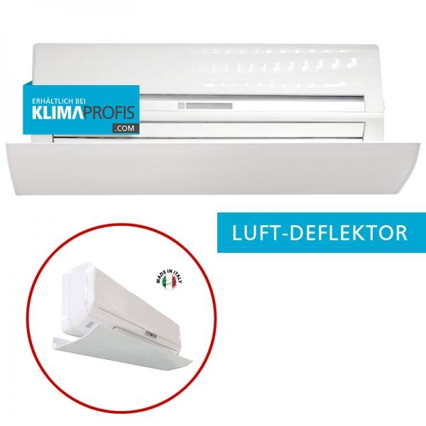Luft-Deflektor für Innengeräte, Alu