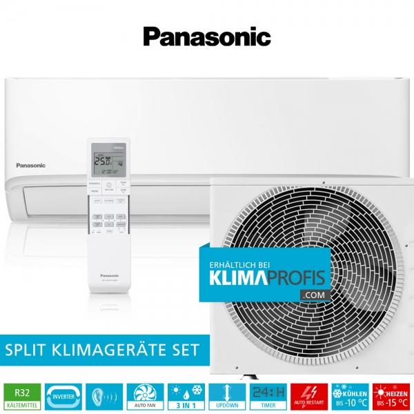 Panasonic CS-TZ35WKE R32 WiFi Standard Inverter Klimageräte-Set - 3,9 kW