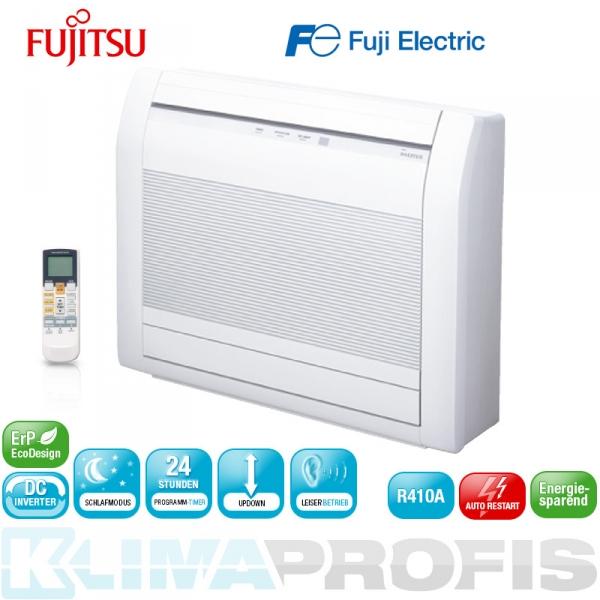 Fujitsu AGYG 09LVCA Mini-Truhe Inneneinheit Inverter - 2,6 kW