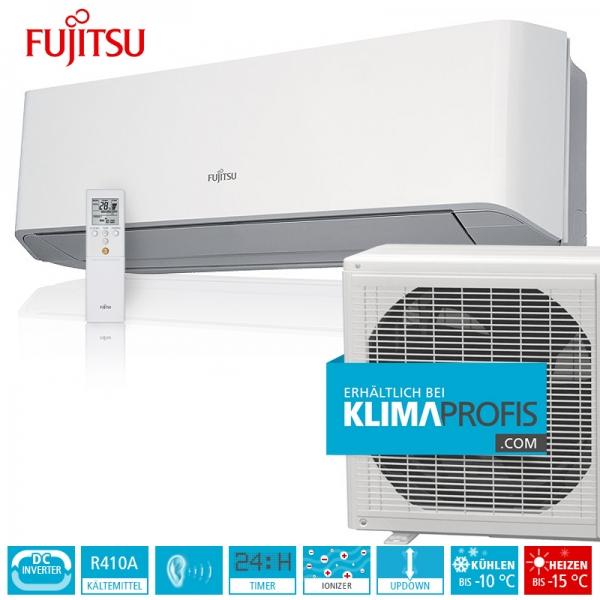 Fujitsu ASYG07LMCE Standard Wandklimageräte Inverter Set - 3 kW