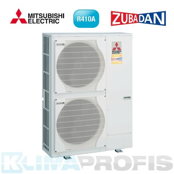 Mitsubishi-Electric Zubadan PUHZ-HW140YHA Außengerät, 400V