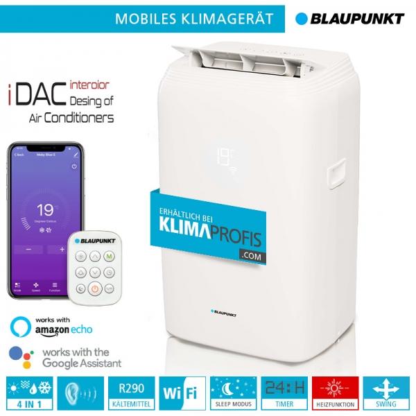 Mobiles Klimagerät Blaupunkt Moby Blue S 1111T WiFi - 3,2 kW