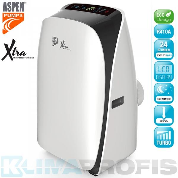 Mobiles Klimagerät Aspen Xtra AX3001 - 3,5 kW