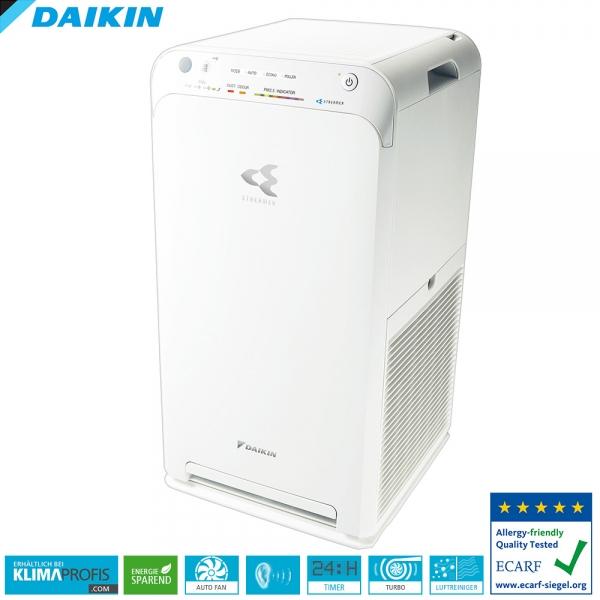 Daikin Luftreiniger MC55W mit Streamer-Technologie Klimatisierung, 330 m³ / h