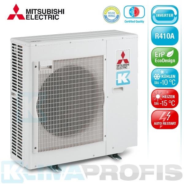 Mitsubishi MXZ-4E83VAHZ Hyper Heating Multisplit Inverter Außengerät 8,4 kW für 2-4 Innengeräte
