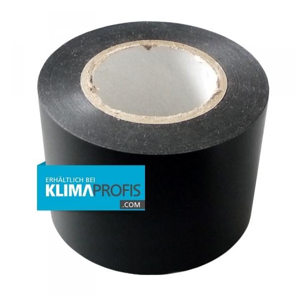 Isolierband, Klimagerätezubehör, 20m/50mm, Dicke 0,2mm, schwarz