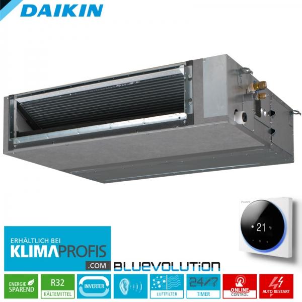 Daikin FBA71A9 Multi-Split R32 Inverter Kanalklimagerät - 6,8 kW
