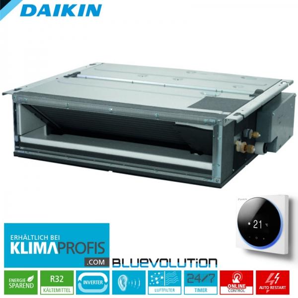 Daikin FDXM50F9 Multi-Split R32 Inverter Kanalklimagerät - 5,0 kW