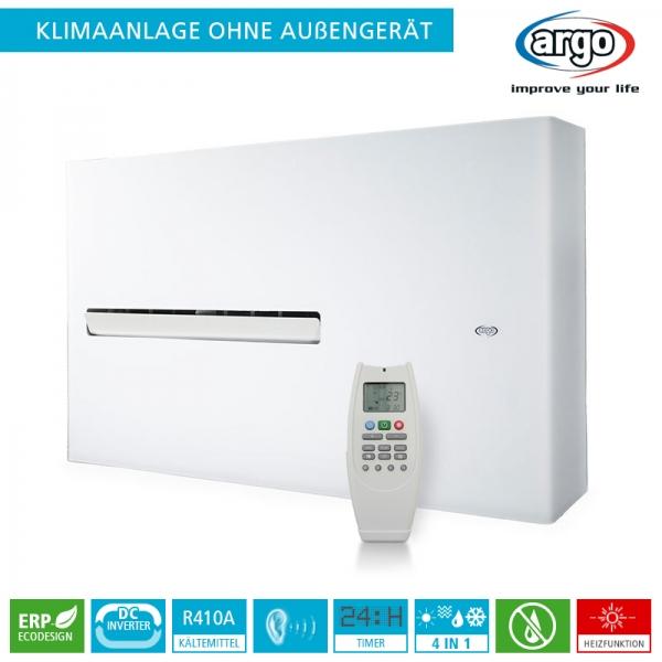 Fabulous Argo DD DC Inverter Klimaanlage ohne Außengerät - 2,7 kW UP56