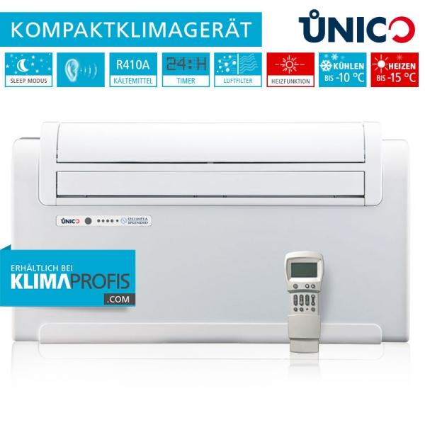 Unico Smart 10 HP Wand-Truhenklimagerät - 2,3 kW