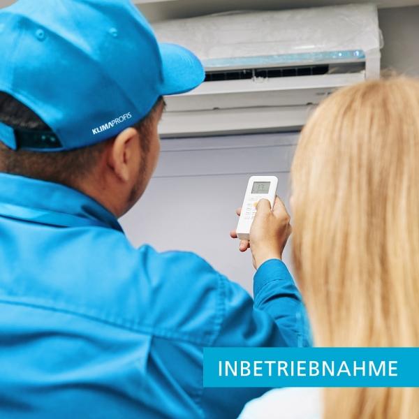 Inbetriebnahme einer Klimaanlage mit einer Inneneinheit