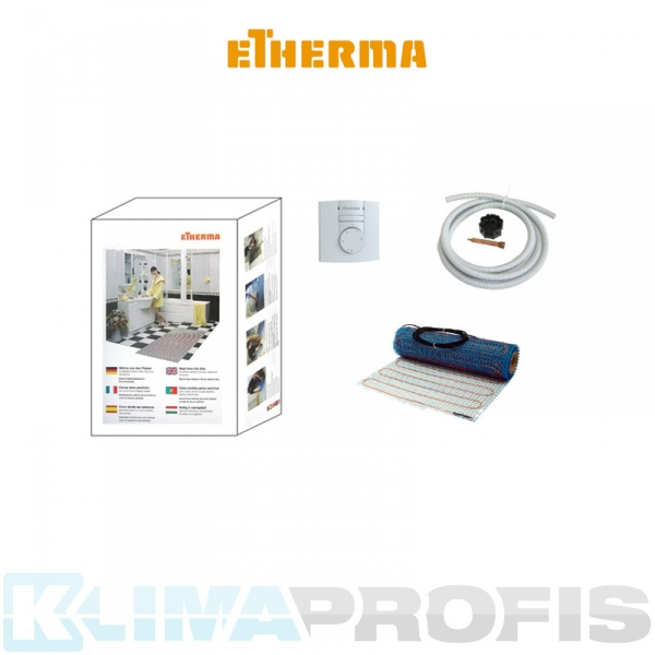 Dipol-Netzheizmatten Set DS 800, 640 W, 50 cm x 800 cm, 160 W/m²
