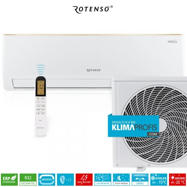 Rotenso Roni R35 Inverter Wand-Klimageräte-Set - 3,77 kW