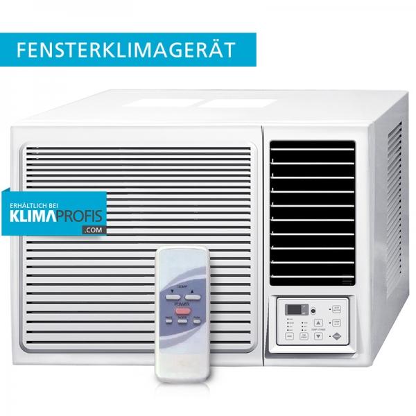 Fensterklimagerät KPCW2-09 2,5 kW, TOSHIBA-Kompressor Kühlen/Heizen