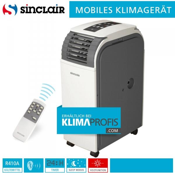 Mobiles Klimagerät Sinclair AMC-11AN - 3 kW für Räume bis 25 qm