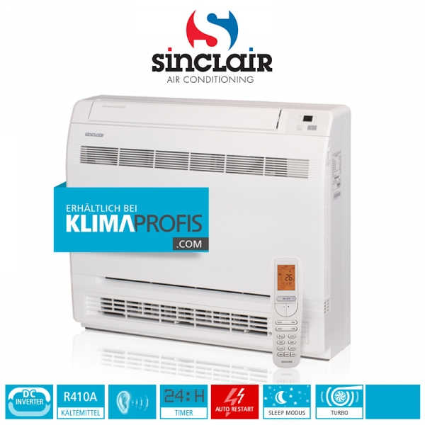 Sinclair MS-P12AI Multi-Split Inverter Truhengerät - 3,5 kW