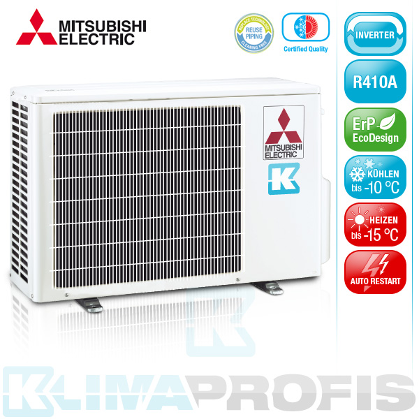mitsubishi mxz 2d33va e2 multisplit inverter au enger t 3 3 kw f r. Black Bedroom Furniture Sets. Home Design Ideas