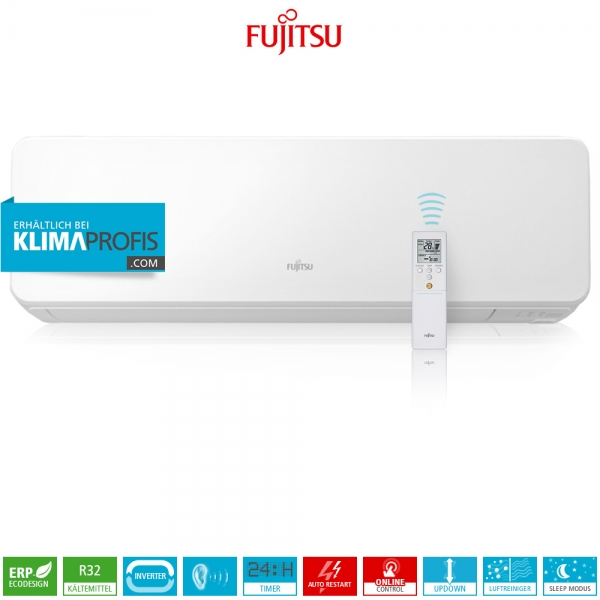 Fujitsu ASYG14KGTB R32 Multi-Split Design Wandklimagerät - 4,2 kW