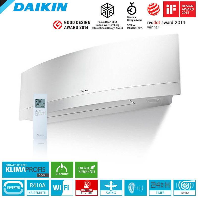 daikin emura ftxg50lw wifi 5 kw multisplit wandklimager t daikin. Black Bedroom Furniture Sets. Home Design Ideas