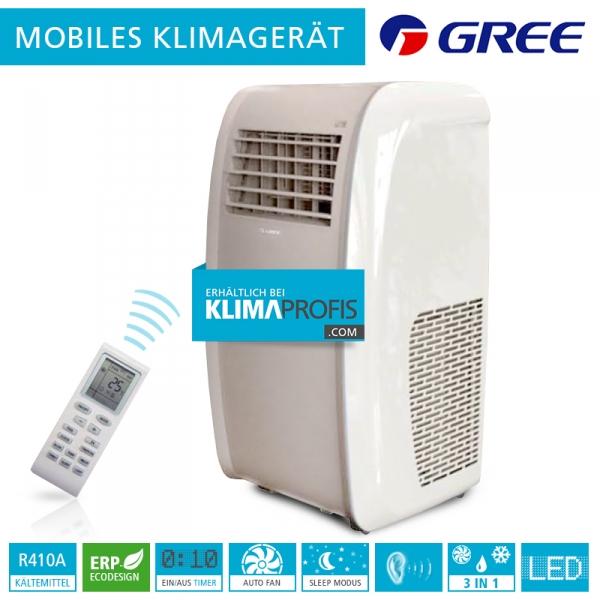 Mobiles Raumklimagerät Gree GPC-12-AJ - 3,52 kW