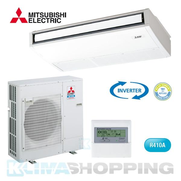 Mitsubishi Deckenunterbaugerät PCA-RP100KA mit PUHZ-P100YHA Standart Inverter | Mitsubishi ...